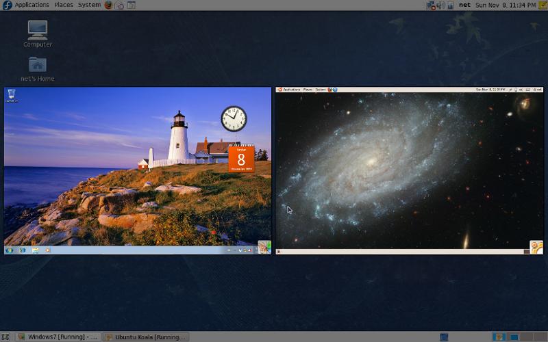 Fedora+Ubuntu+Windows